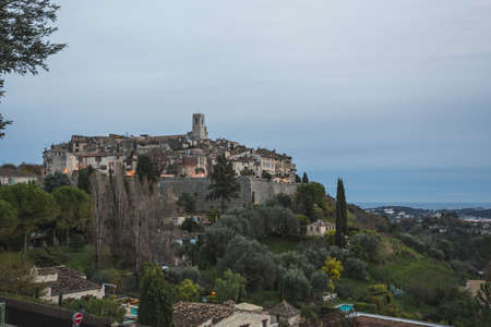 Saint Paul de Vence, a old historic village in France