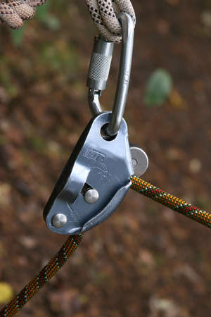 equipment for rock-climbing