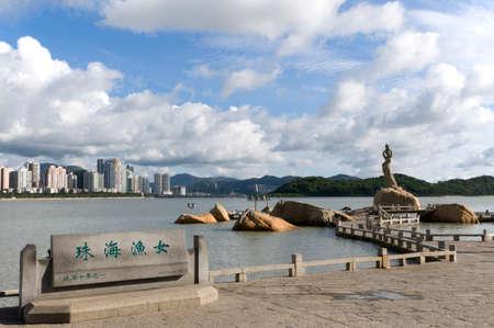 Beautiful scenery of Zhuhai