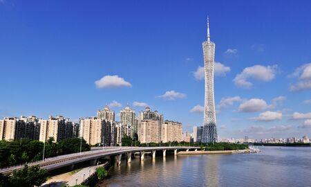 Guangzhou Tower scene
