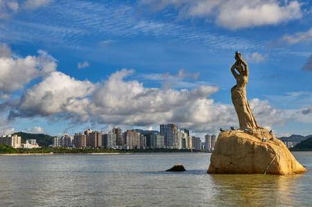 Zhuhai Guangdong City Scenery Stock Photo