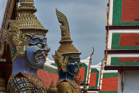 Statue outside a Thai temple
