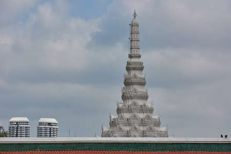 View of Thai building Stock Photo