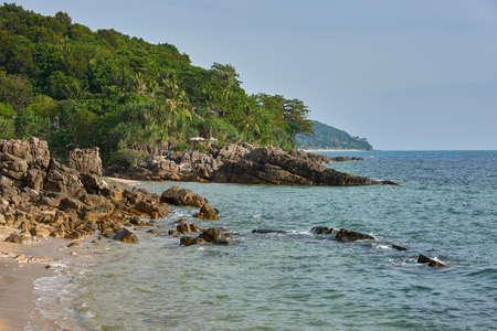 Beautiful seaside scenery Stock Photo