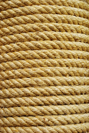 thick rope pattern background  photo