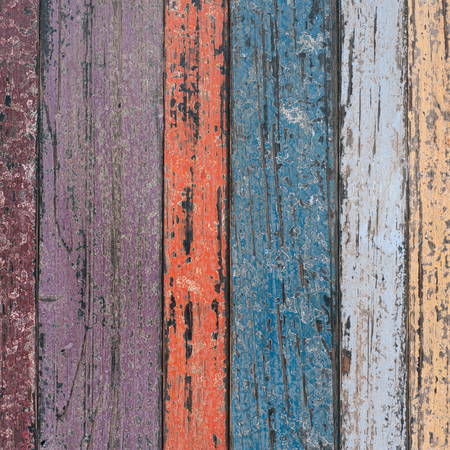 Vintage Wood Wall For text and background Foto de archivo