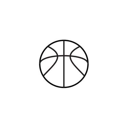 Afbeelding van basketbal pictogram. Basketbal pictogram vector. Basketbal pictogram kunst. Basketbal pictogram logo. Overzicht van basketbal pictogram. basketbal pictogram ontwerp.
