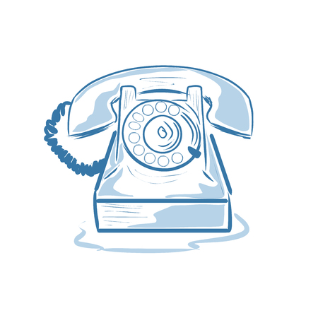 dialplate: Old phone