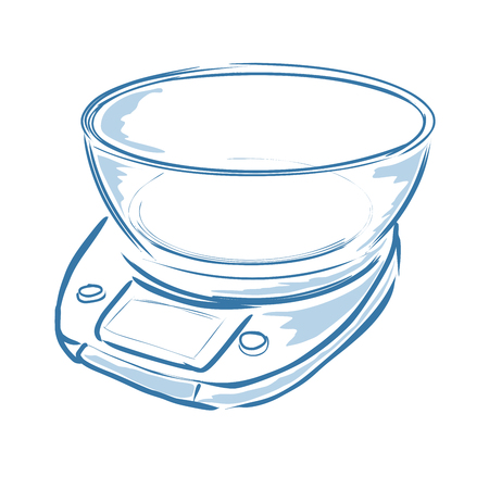 Kitchen Scale Vector