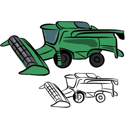 reaping: Combine harvester