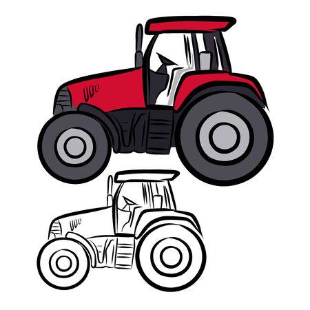 Tractor Çizim