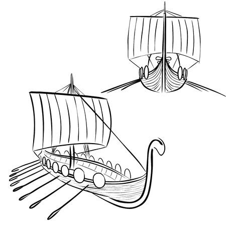 germanic people: Viking boat