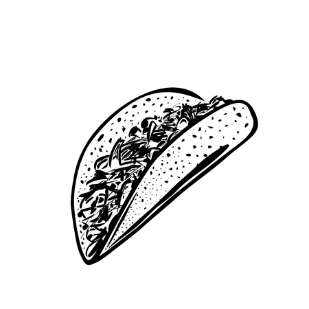 ground beef: Mexican Taco