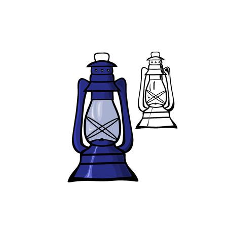 oil lamp: Oil Lamp Illustration