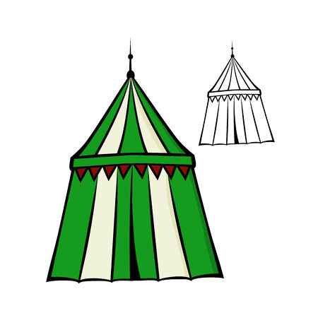 knightly: Medieval tent