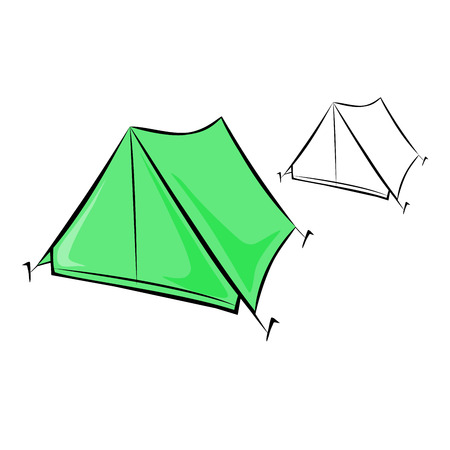temporal: Travel tent