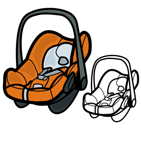 passenger compartment: Baby Car Seat