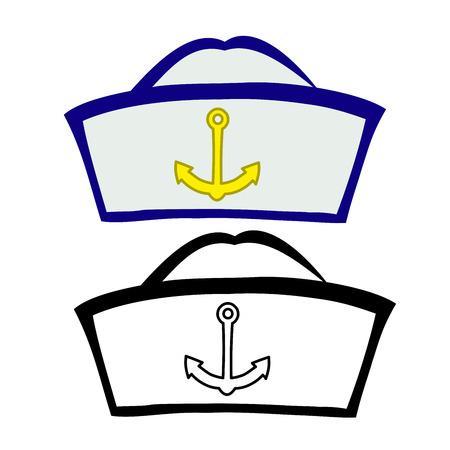 peaked cap: Sailor Cap