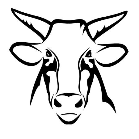 prestige: Bull head Illustration
