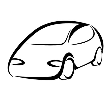 Car symbol Vector