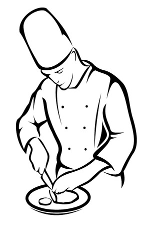 chef cooking: Chef cooking