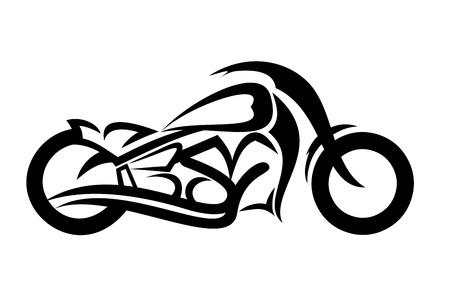 Motorcycle sketch Ilustrace