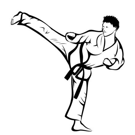 kudo: Karate kick