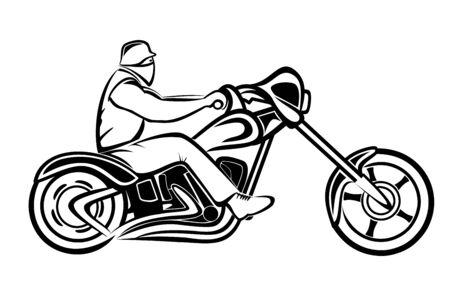 chrom: Rider on a chopper