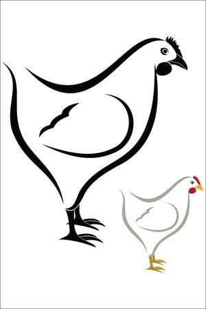 henhouse: Hen symbol