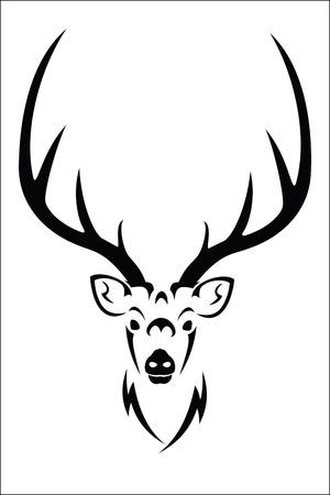 antler: Deer symbol