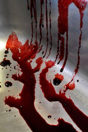 macabre: Blood splatter