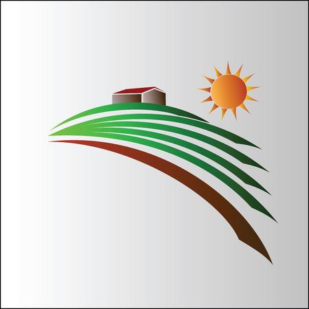 Landwirtschaft Symbol Illustration