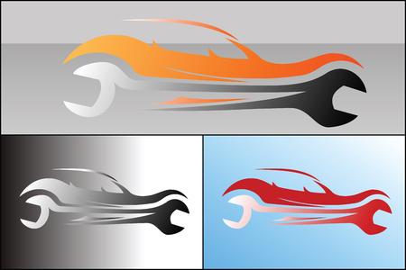 Car service logo design