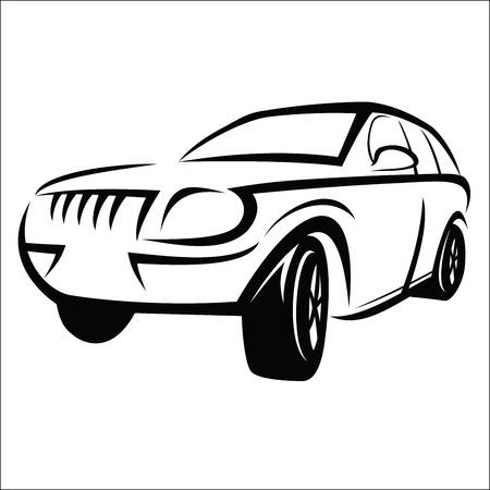 tsar: Car sketch Illustration