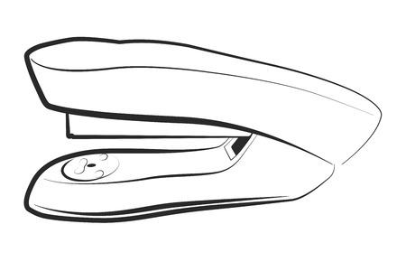 Office stapler Illustration