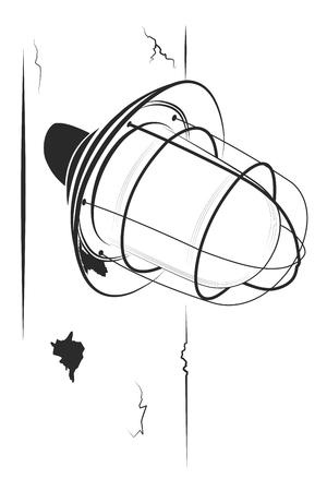Street lamp Çizim