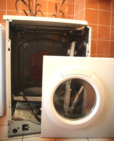machine part: Washing Machine in Repair
