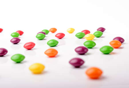 Isolated photo of colorful candies photo