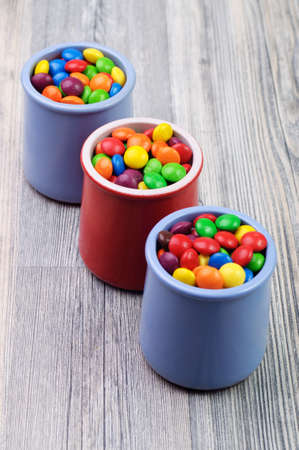 sugary: Sugary sweet candies in three candies