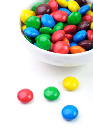 chewy: A bowl of various vibrant chewy candies