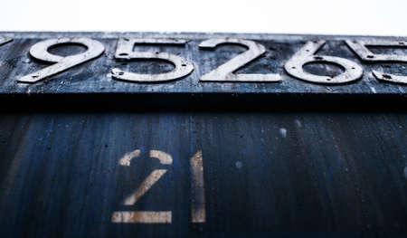 dark blue: Dark blue background with digits.
