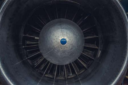 jet engine: Jet engine turbine airplane.
