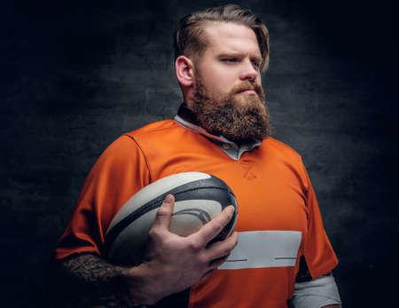 lustige rugby spieler