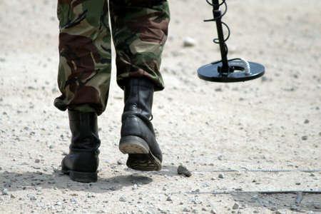 landmine: minefield