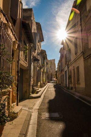 Old Town Arles Reklamní fotografie