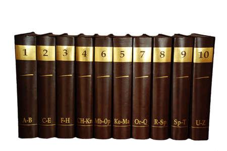 encyclopedias: Enciclopedia conjunto - 10 tomos de libro pesado