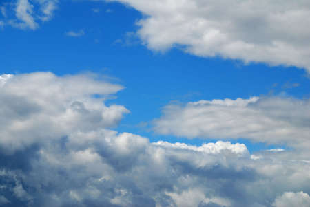 Sky with clouds - natural texture Stock Photo - 1149229