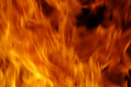 infernal: Real fire texture - detail of a big flame
