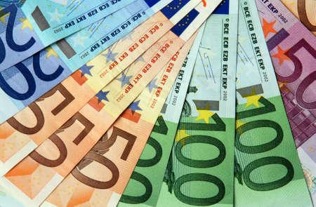 payout: Euro billetes organizados en trampa