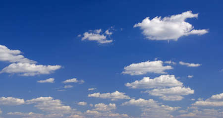 Sky full of small clouds - bright natural background Stock Photo - 2071668